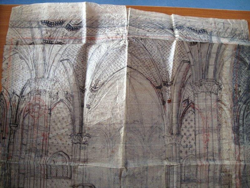 Plán rekonstrukce z roku 1913