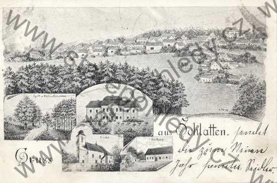 Slatina kolem roku 1906