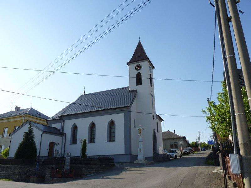 Kostel po rekonstrukci, celkový pohled