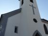 Kostel po rekonstrukci, vstup