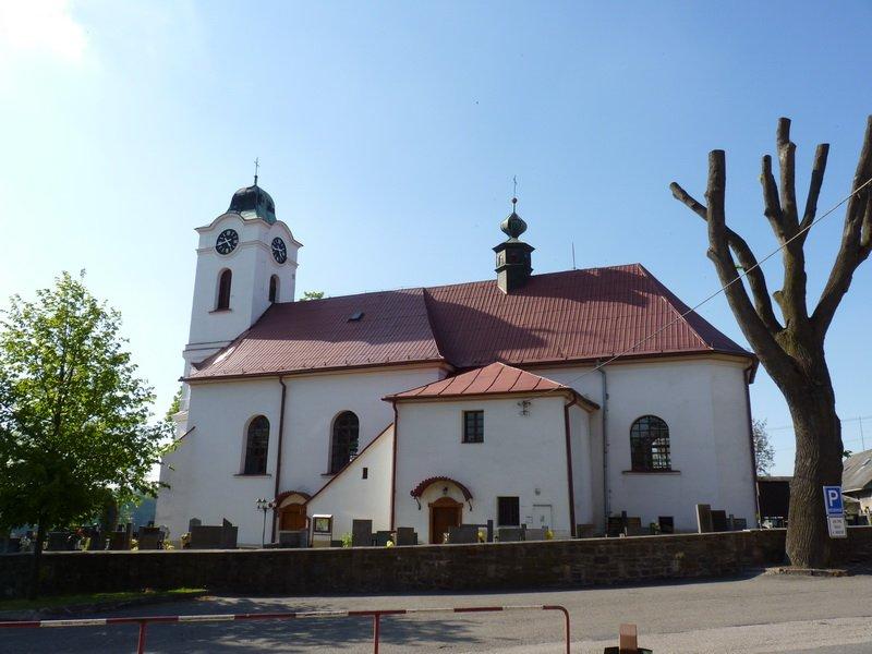 Kostel, celkovy pohled