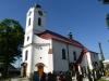 Kostel, bocni pohled