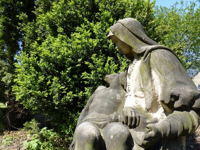 Pieta, farni zahrada