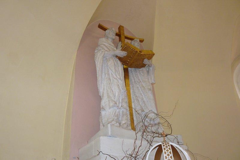 Sochy sv. Cyrila a Metodeje