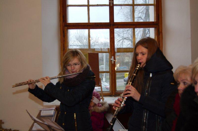 Flétnový a klarinetový doprovod