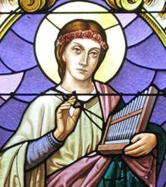 více o sv.Cecílii